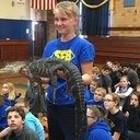 02.02.2018  |  FRIDAY:  Celebrating Families  |  Home & School sponsors The Reptile Guy at afternoon assembly!